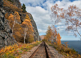 Autumn on the Circum-Baikal Road