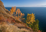 Autumn in the south of Lake Baikal