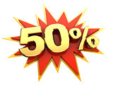 special offer fifty percent