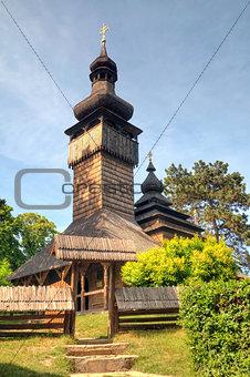 old wooden church, Uzhgorod, Ukraine