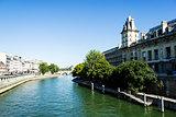 Bridge over Seine, Paris, France