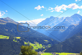 Alps in Tirol, Austria