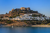 Lindos Castle and village