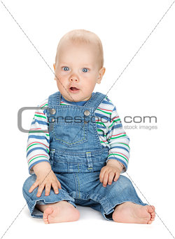 Small baby boy