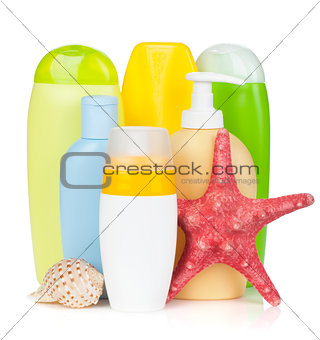 Beach cosmetics