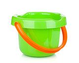 Baby beach sand bucket