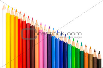 Assortment of color pencils