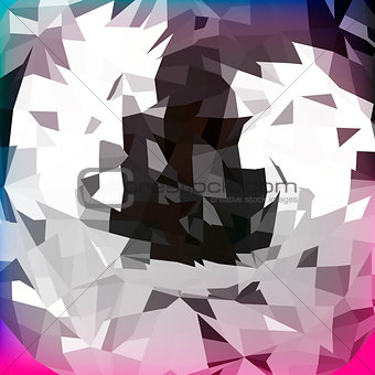 Abstract polygonal background, vector Eps 10 illustration.