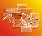 Background orange abstract website pattern