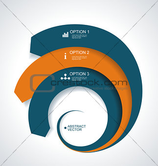 Business Abstract Circle icon.