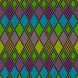 Ethnic seamless knitted pattern