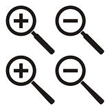 Zoom icons