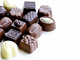 delicious gourmet chocolate candy  sweet present