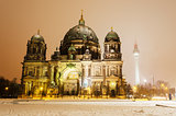 Berlin Cathedral Winter