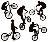 Bike tricks set