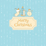 Xmas objects card