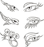 eye decorations
