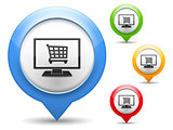 Internet Shop Icon