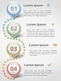 Modern inforgraphics design template