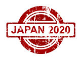Japan 2020 stamp