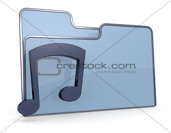 folder icon music