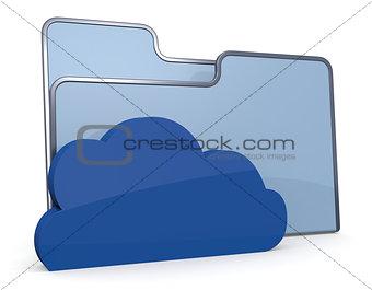 folder icon cloud