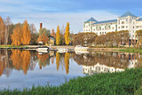 Finland. Hameenlinna  in  autumn