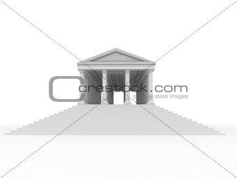 Old roman palace