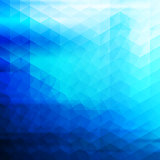 Blue Vector Abstract Geometric Background