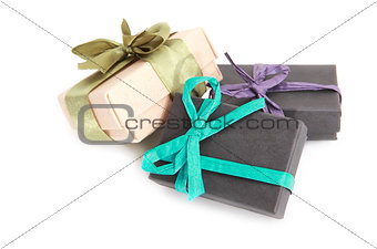 beautiful decorated gift box
