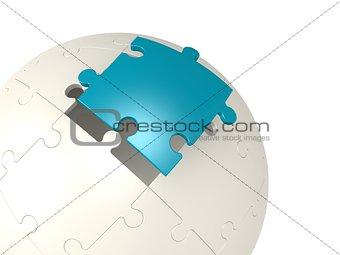Blue last puzzle