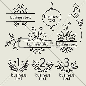 forged pattern vector