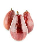 Fresh Red Pears