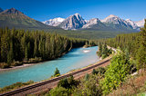 Banff railroad