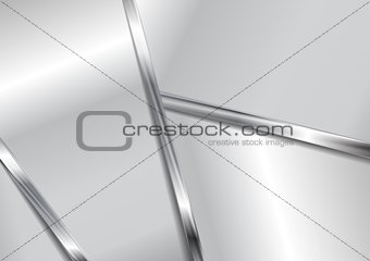 Abstract metallic modern background