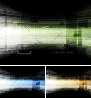Abstract hi-tech vector backdrops