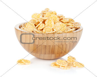 Fresh corn flakes