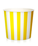 Empty popcorn box