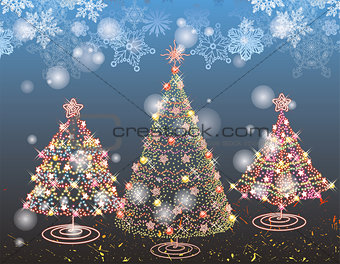 Holiday Background - Illustration