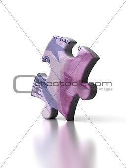 Single Turkish Lira Puzzle