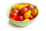 various tomatoes in bowl