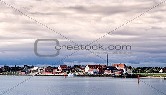 Nordby on the danish island fano