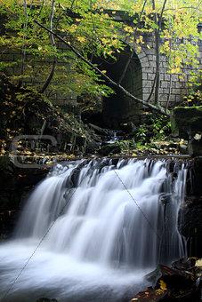 Waterfall on Satina Creek