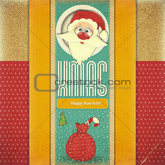 Old Xmas postcard