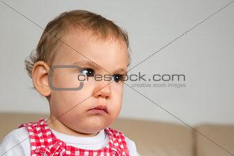 Baby is sad
