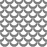 "Seamless pattern. ""Fish scale"" texture."
