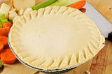 Pot pie ready to bake