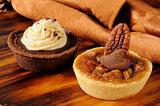 Gourmet dessert tarts