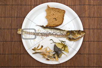Fish leftovers