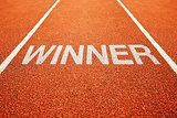 Winner track